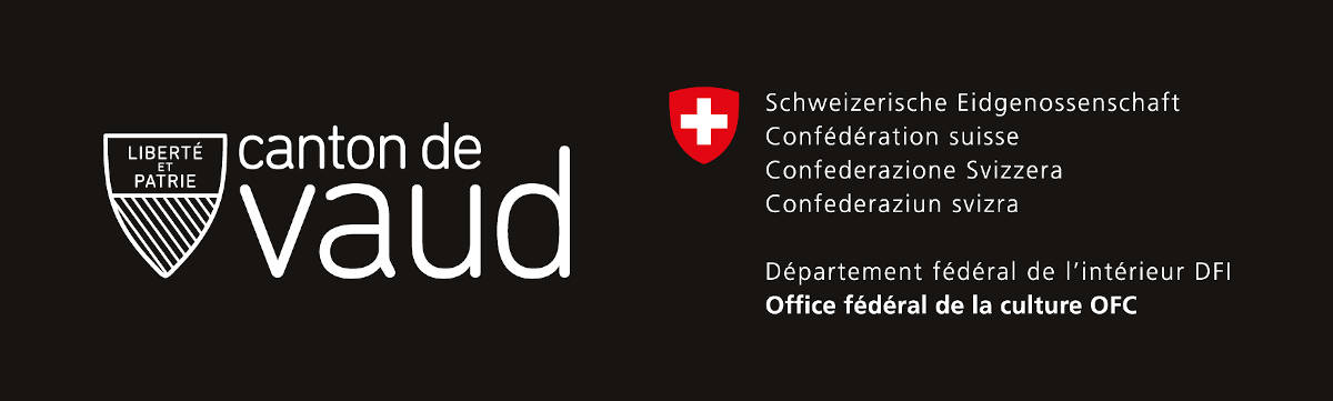 Avec le soutien du canton de Vaud (DFJC) et l'Office fédéral de la Culture · Côte à Côte